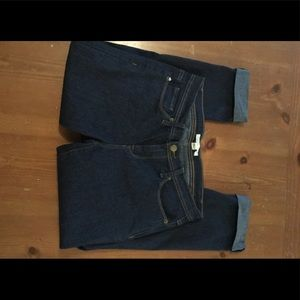 Forever 21 cropped jeans